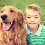 Little boy and dog - Dog Training Seminars