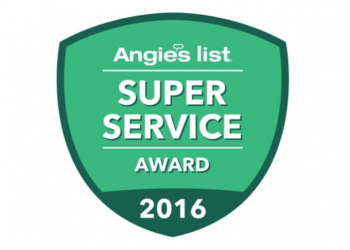 2016 Angie's List Super Service Award!